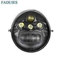 FADUIES Motorcycle LED Headlight LED headlamp For VRSCA V Rod VRod 2002 2016|headlamp led -