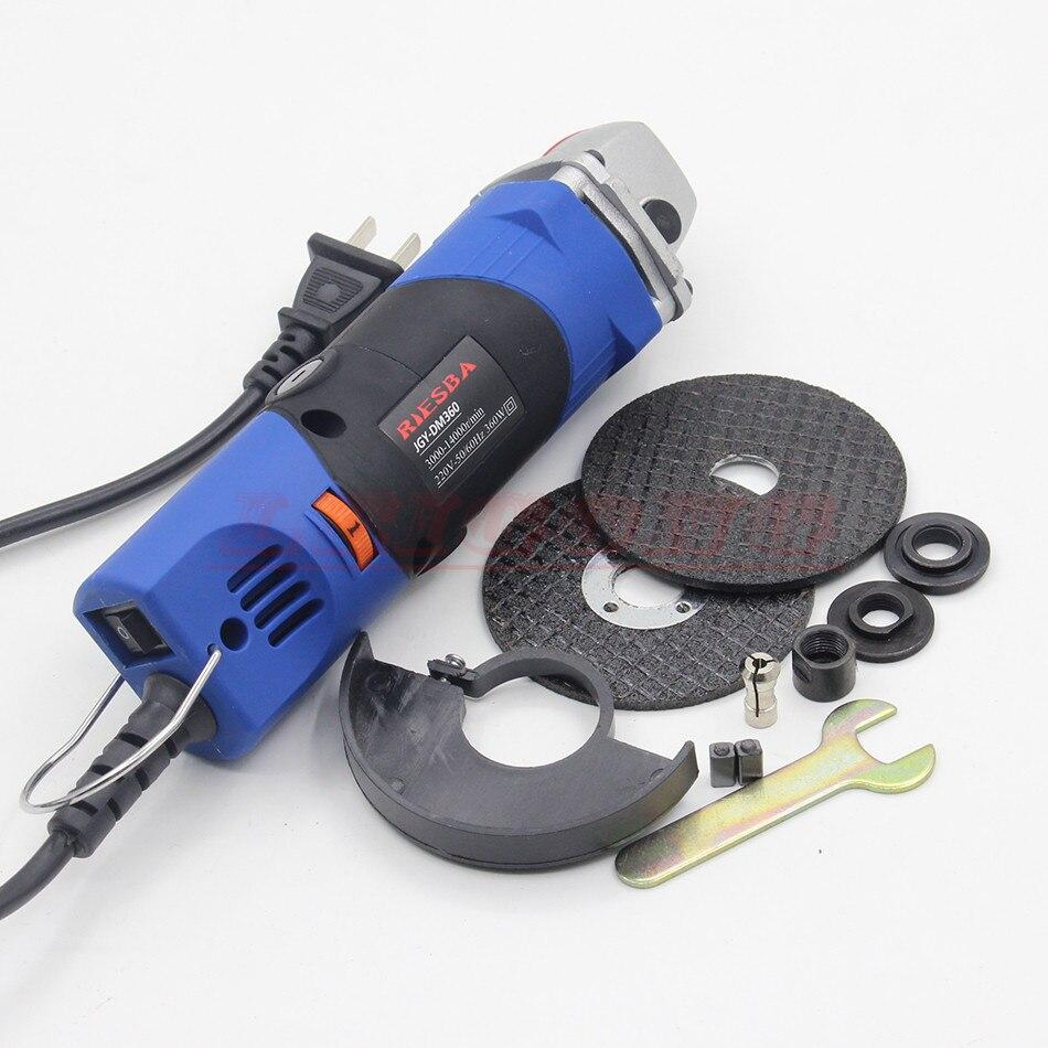 RIESBA 220 v 360 watt einstellbare geschwindigkeit winkelschleifer poliermaschine Elektrische mühle