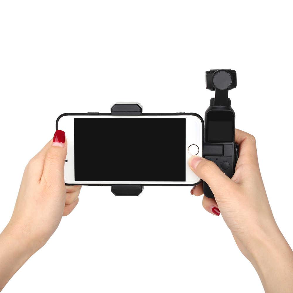 טלפון קבוע מחזיק הר Stand הארכת מוט חצובה הר Stand מחזיק טלפון לdji אוסמו כיס כף יד Gimbal מצלמה