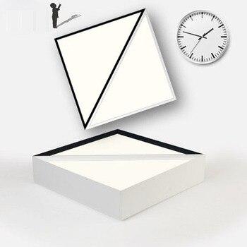 Creative LED Geometrische Plafondlamp Driehoek Eenvoudige Sfeer Nachtlampje Gang Lampen Koel Wit Moderne Nordic Verlichting