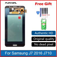 Super AMOLED For Samsung Galaxy J7 2016 J710 J710F J710FN J710M J710Y LCD Display Touch Screen