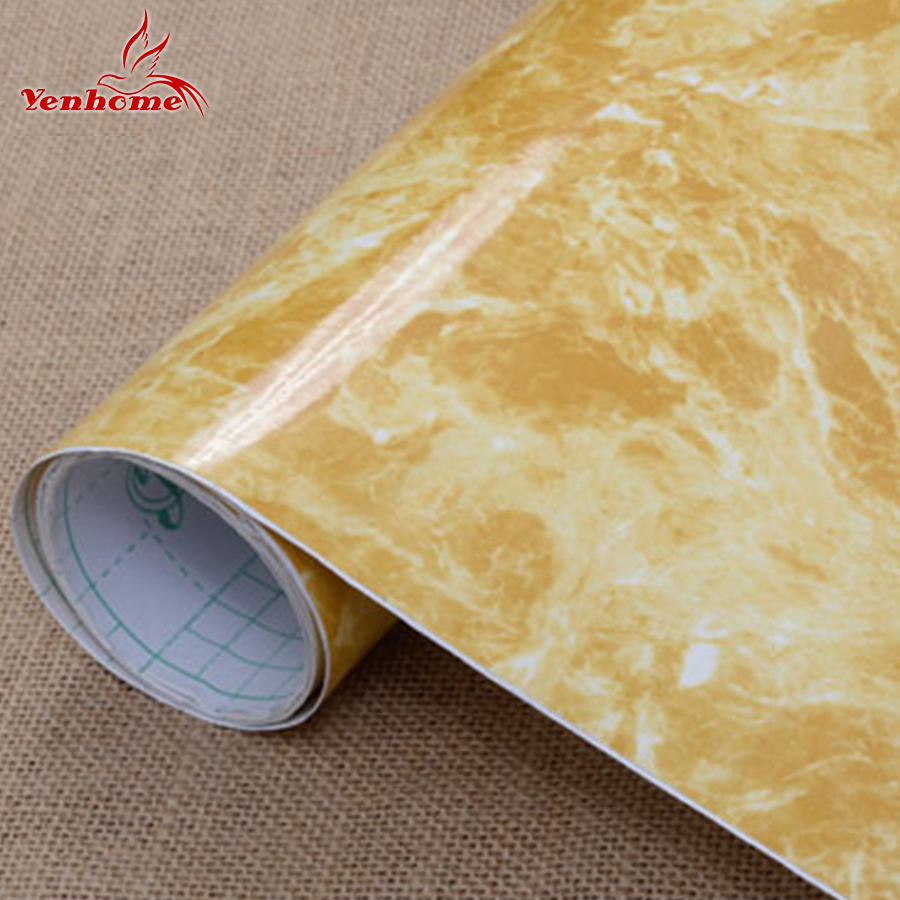 3M Vinyl Marble Waterproof Self Adhesive Wallpaper Roll For Bath Kitchen  Countertop Cupboard Cabinet Home Decor Wall Stickers In Wall Stickers From  Home ...