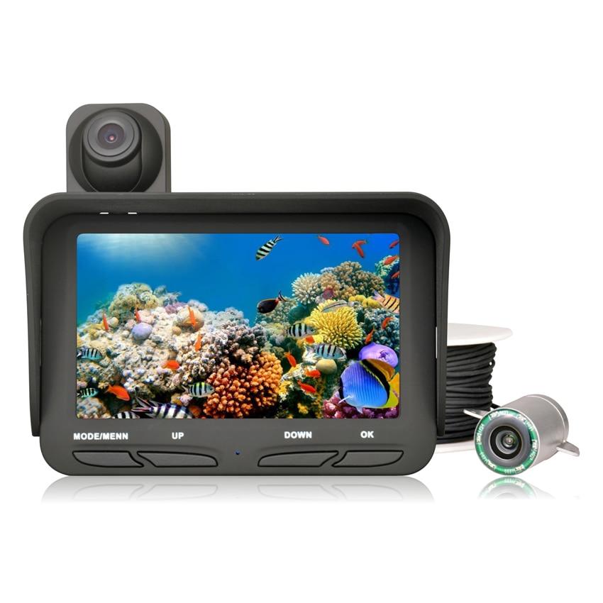 Dual lens 2 0 mega pixels night view underwater fishing for Underwater fish camera