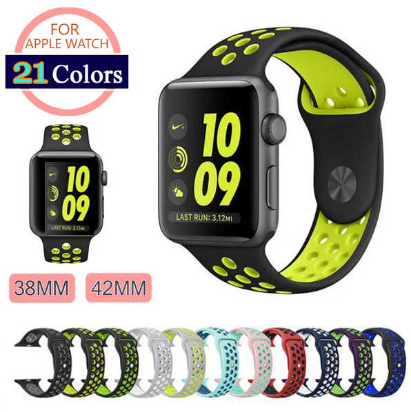 Sport schleife Strap For apple watch band 42mm 38mm apple watch 4 3 band iwatch band correa pulseira 42 44 nylon armband