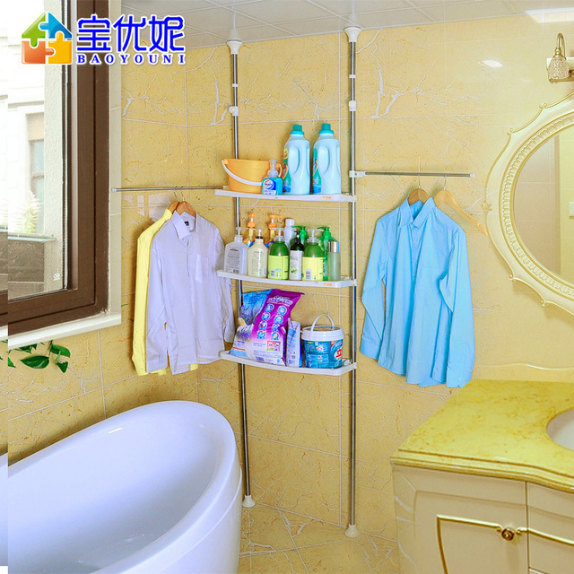 Bao Gifted Ni Stainless Steel Toilet Bathroom Toilet Shelving Shelf