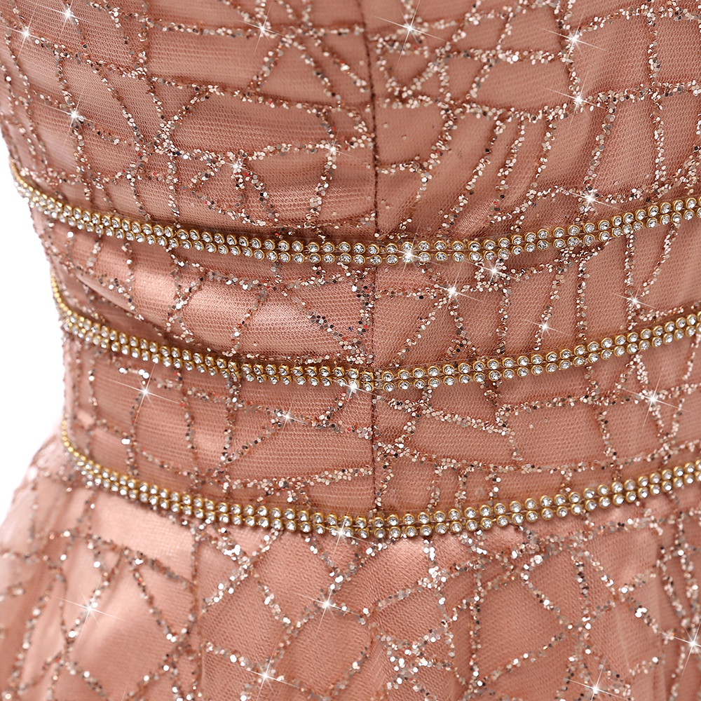 Image 5 - VKbridal Glitter Deep V neck Mini Length Crystal Graduation Dress  Sparkling Prom Gowns Junior for Girl Short Homecoming  DressesHomecoming Dresses