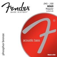 Fender 8060 인청동 어쿠스틱 기타베이스 문자열 긴 규모 45-100