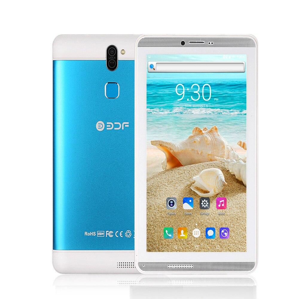 新 7 インチ Sim カード 3 グラム電話ギガバイト 1 + 16 ギガバイトアンドロイド 6.0 タブレット Pc WiFi Bluetooth FM クアッドコア 2 SIM カード携帯電話パッド Pc  グループ上の パソコン & オフィス からの Android タブレット の中 2