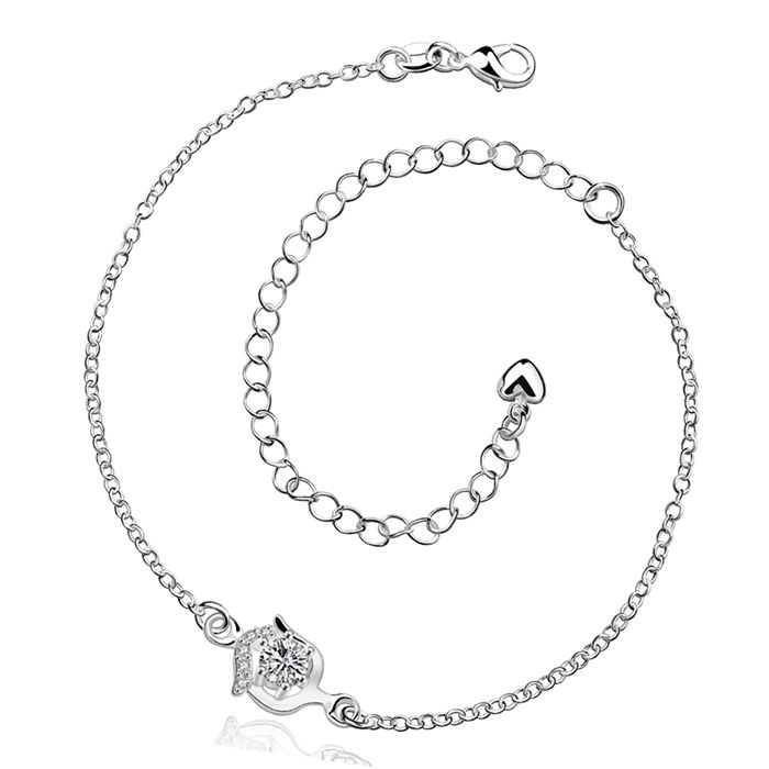 Anklet 925 jewelry silver plated fashion jewelry anklet for women jewelry /IQHXREGR