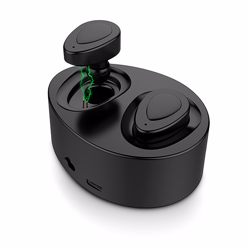 Bluetooth Earphone True Wireless Earbuds Mini Stereo Music Headsets Hands-free Headphone with Mic Charging Box for Phone high quality laptops bluetooth earphone for msi gs60 2qd ghost pro 4k notebooks wireless earbuds headsets with mic