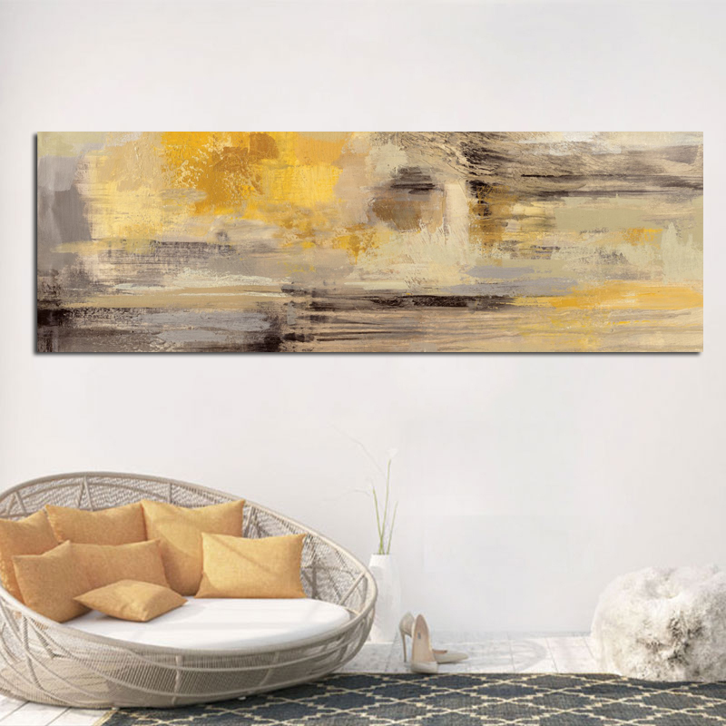 100% handmade abstract Yellow Oil Painting Modern Scandinavian Wall Art hand painted Bedroom Living Room Decor100% handmade abstract Yellow Oil Painting Modern Scandinavian Wall Art hand painted Bedroom Living Room Decor