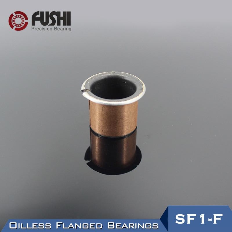 Inner Diameter 3//4//5//6//8//10//12//15mm SF-1 Self Lubricating Bearing Bronze Sleeve