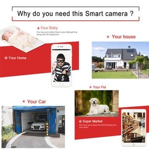 Image 2 - JIENUO cámara Ip Wifi 1080P 960P 720P HD Cctv, vídeo de vigilancia, seguridad, Audio inalámbrico, IPCam interior, cámara de domo infrarrojo para el hogar