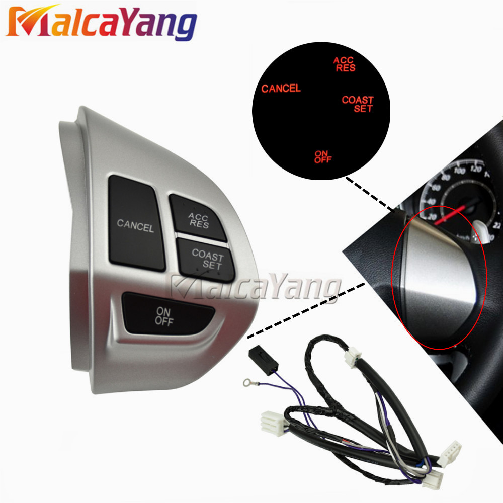 Steering Wheel Cruise Cancel Button <font><b>8602A008</b></font> Right side Fit for MITSUBISHI LANCER OUTLANDER ASX 2007-2011 image