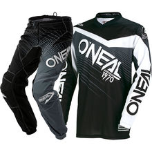 Elemento 3 cores MX Jersey calças off-road off-road capacete de motocross off-road racing suit