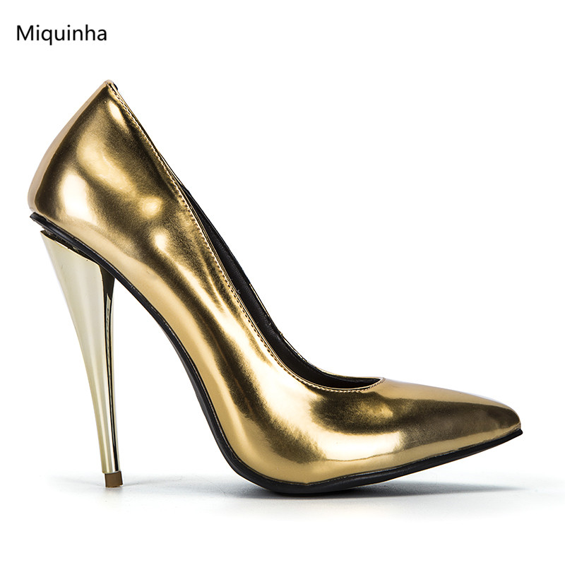 Popular Gold Spike Heels-Buy Cheap Gold Spike Heels lots from ...