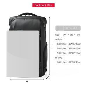 Image 3 - Kingsons 15 인치 노트북 배낭 USB 충전 도난 방지 배낭 남자 여행 배낭 물 혐오 학교 가방 남성 Mochila