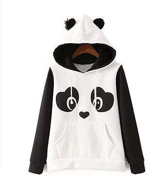 Women Hoodie Sweatshirt Jumper Hooded Pullover