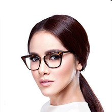 Stylish Elegant Black Cat Eye Women Eyeglasses Clear Lens Spectacle Frame  Fashion Female Sun Glasses Optical Eyewear Vidros недорго, оригинальная цена