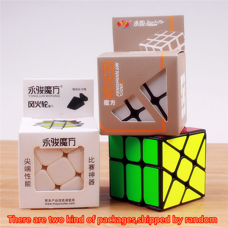 Izvorni YJ vjetar kotača kocka magija brzina puzzle kocka ABS - Igre i zagonetke - Foto 6