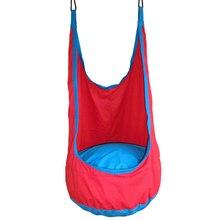 Yontree 1 шт. красный Pod детей swing kids Гамак Крытый открытый висит стул Бесплатная доставка H1364Y2