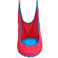 YONTREE 1 Pc Red Pod Children Swing Kids Hammock Indoor Outdoor Hanging Chair Free Shipping Freeshipping H1364Y2