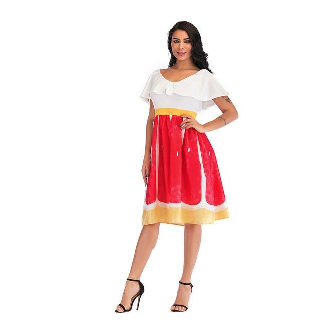 Women'S Dress Summer Ruffle...