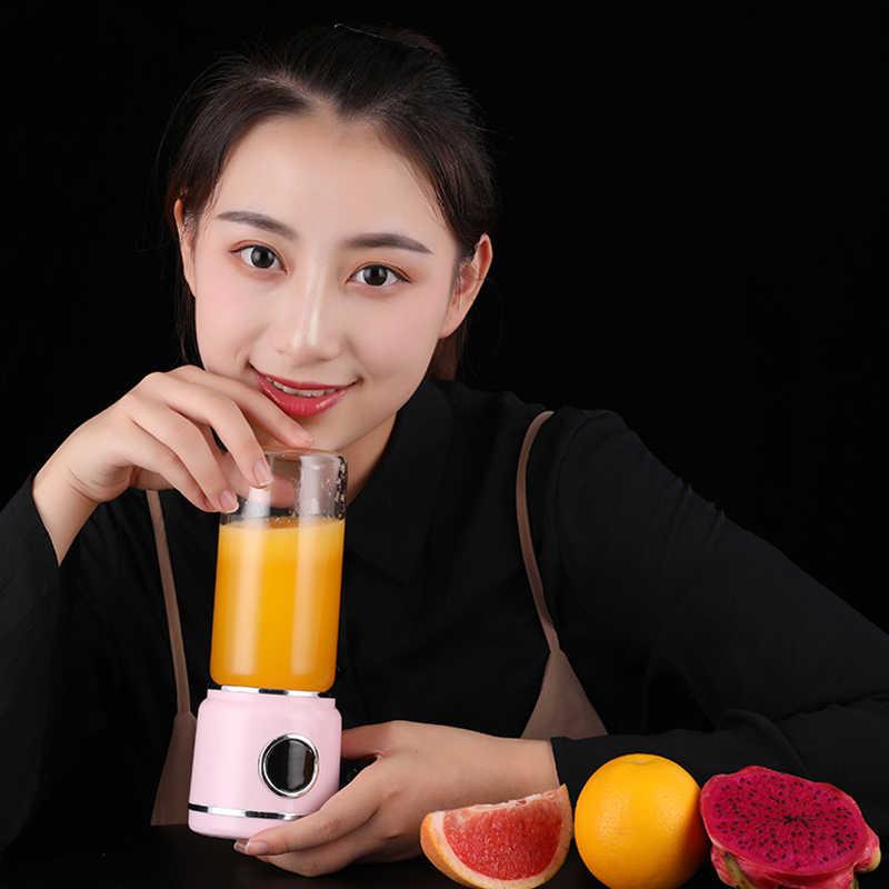 Top Venda Liquidificador Portátil, Recarregável Usb de Viagem Liquidificador, Liquidificador Pessoal Para Shakes E Smoothies, comida para Bebé, suco de frutas