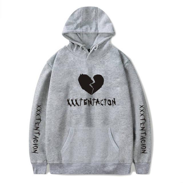 Newest Xxxtentacion Revenge Hoodie Sweatshirt Rip Xxxtentacion Jahseh Dwayne Onfroy Hip Hop Rapper Hoodies Clothes Man Clothing