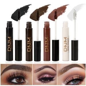 Image 1 - 4 kolory profesjonalny tusz do rzęs wodoodporny oczy kosmetyki przedłużanie rzęs brązowy biały tusz do rzęs makijaż oczu