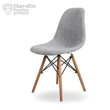 Нордический обеденный стул, твердый деревянный стул, стул для взрослых, простой современный компьютерный стул, кабинет, домашнее кресло