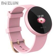 Bozlun модные женские туфли умные цифровые часы женский период напоминание HeartRate водостойкие часы Colories шаг красивые наручные часы B36