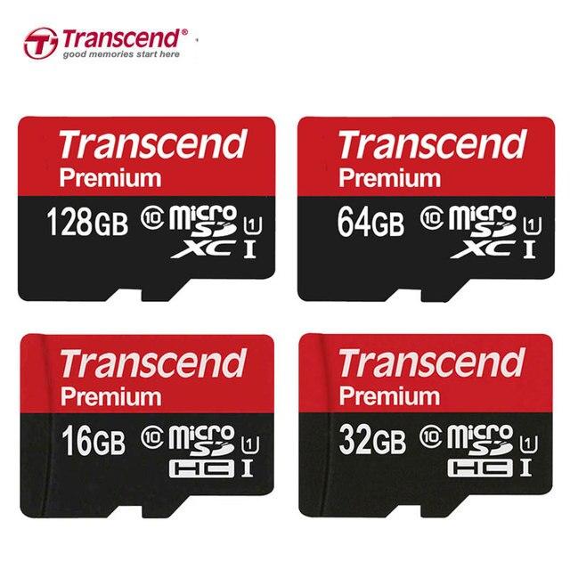 Transcend 90 Mbs Micro Sd Karte 32 Gb 64 Gb 16 Gb Speicher Karte