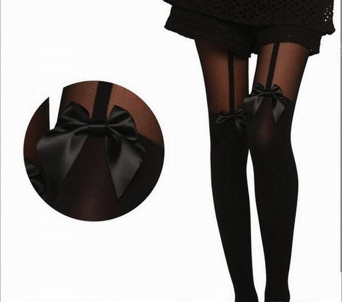 Новинка, сексуальные женские мягкие черные колготки, милые колготки на подтяжках, тонкие чулки, колготки, чулочно-носочные изделия