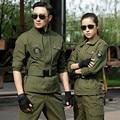 Uniformes militares Tácticos Del Ejército Verde Ocio Camuflaje Uniforme Militar Transpirable Resistente al Desgaste Resistente a Los Arañazos S-4XL