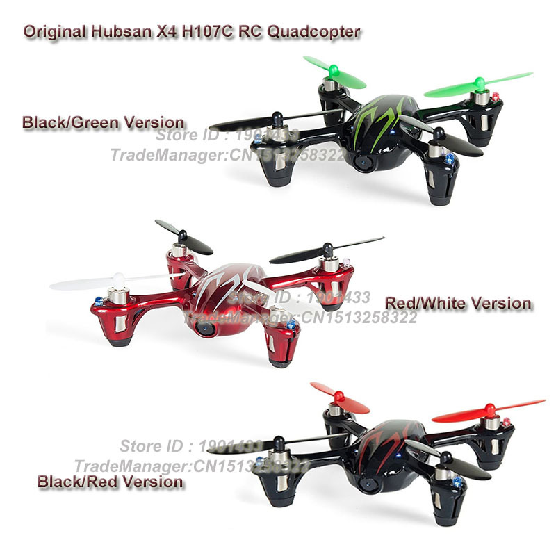 Original Hubsan X4 H107C Upgraded 2.4G 4CH RC Quadcopter With 2MP/0.3MP Camera HD Video BNF drones with camera hd 2 x 7mm hollow cup motor for hubsan h107l upgraded version
