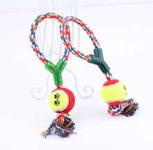 Pet Dog Cat Toys Chew Handmade Rope Single Ball Toy For Dog Cat Pet Durable Mascotas Perros Honden Speelgoed Hund Cani Chien