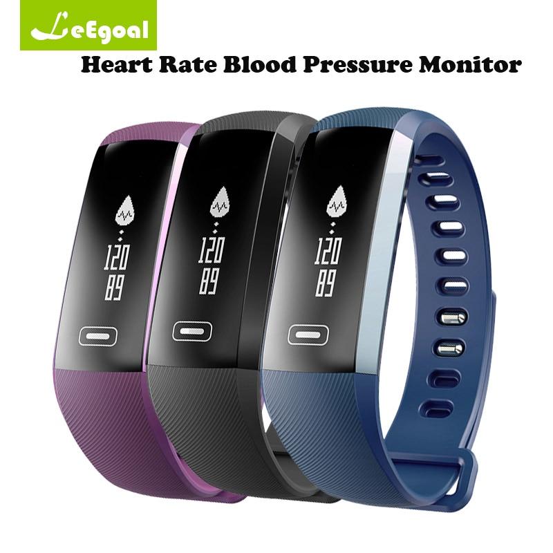 Leegoal Original M2S Smart Bracelet Wristband Bluetooth Activity Tracker SmartBand Heart Rate Blood Pressure Monitor