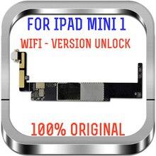 Gute Arbeits A1432 Motherboard Für Ipad mini1 Wifi Entriegelte logic boards Für Ipad mini 1 ersatz mainboard mit chips