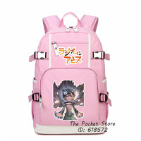 2017 Hot Japanese Anime Kawaii Riko Reg Nanachi Cosplay Printing Backpack Cartoon School Bags Large Travel