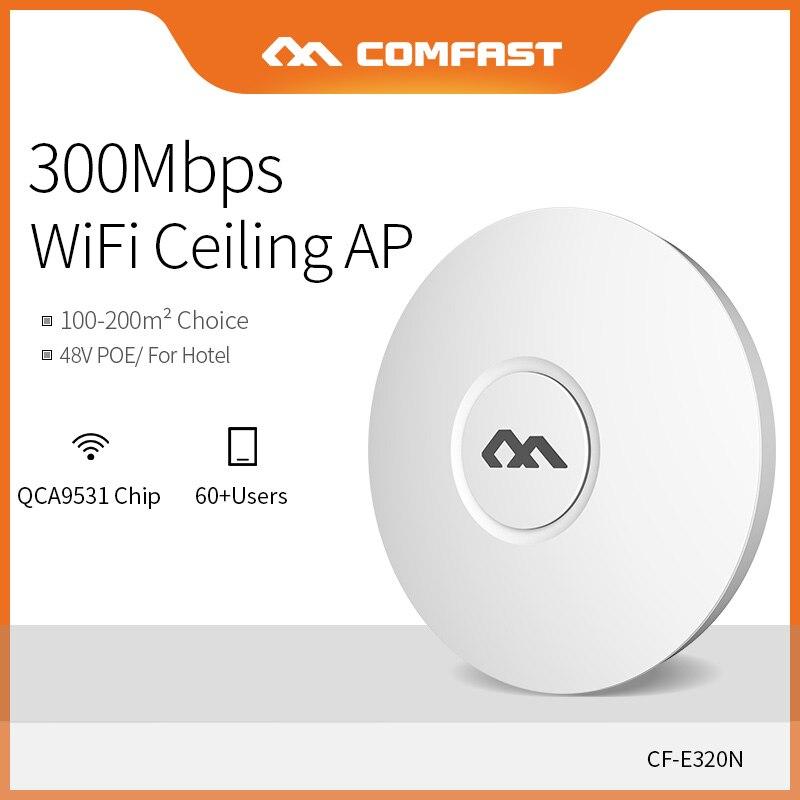 COMFAST 300 Mbps sans fil plafond AP Wifi routeur pour grande zone Wifi couverture Point d'accès AP wi-fi Signal amplificateur CF-E320N-V2