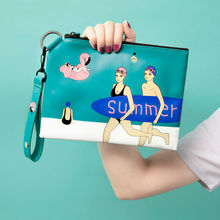 PU leather day clutch bags for girls with original design YIZI (FUN KIK)