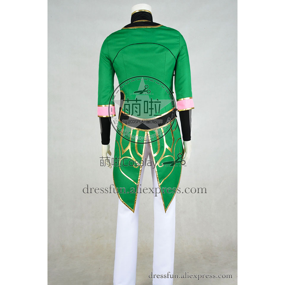 RWBY Cosplay Lie Ren Costume Green Uniform Comfortable Outfit High Quality Cool