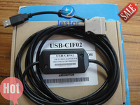 USB CIF02 PLC Programming Cable For Omron PLC CQM CPM1A 2A And SRM1 Free Shipping