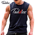 Taddlee Brand Mens muslce vest Man tank bodybuilding fitness men tank tops cotton singlets Plus Big size T Shirt gasp Sleeveless