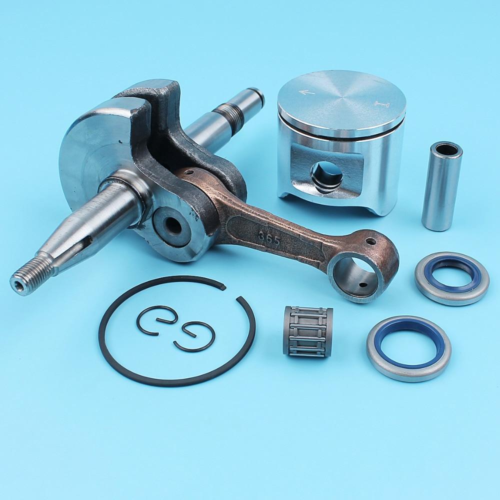 Crankshaft Oil Seals (48mm) Piston Kit For Husqvarna 365 Chainsaw #503691303 Pin/Finger Ring Needle Bearing Circlip