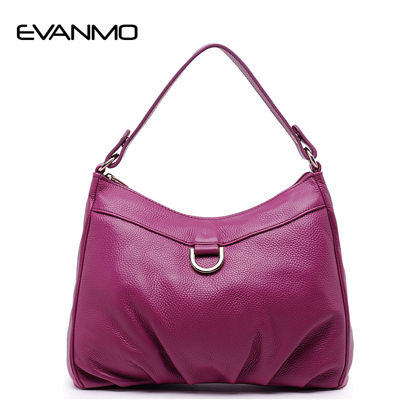 Genuine Leather Women Shoulder Bag Rose Red Fashion Leather Tote Shoulder Bag Bolsas Femininas Large Capacity Casual Women Bags 2018 barbie fashion casual shoulder bags for women pu leather tote bag large capacity hasp single shoulder woman bag purse new