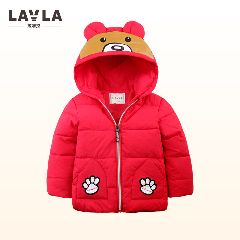 Lavla 2017 children Down & Parkas 9M-6T winter kids outerwear boys casual warm hooded jacket for boys thick Cute boys warm coats duck down jacket for boys 2017 russia winter warm thick down parkas children casual fur hooded jackets coats 30 degrees