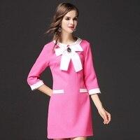 Nowości Dziewczyny Słodkie Sukni Przyjęcia Togi Jednolity Kolor Rose Kobiety Sukienki Eleganckie Panie Ubrania ssd022