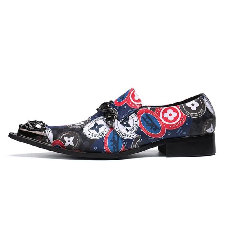 Da As Pic Designer Luxo Oxfords Formal Sapatos Sobre Para Se Clássico Vivodsicco Couro Deslizar Vestem Apontado Moda Homens De RgR1HAnx